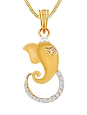 gold brass pendant -  online shopping for Pendants