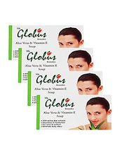Globus Aloe Vitamin E Soap(Pack of 4) -  online shopping for beauty sets and combos