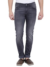 grey cotton jeans -  online shopping for Jeans