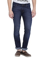 blue cotton jeans -  online shopping for Jeans