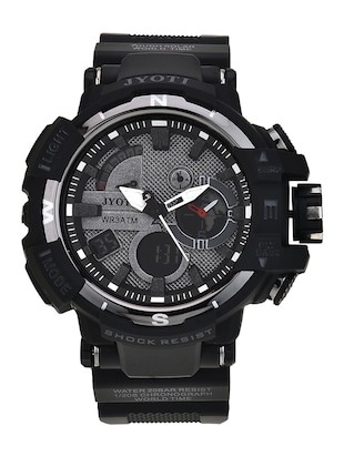Jack rachel jyoti collections men's black digital analog watch jr-40 -  online shopping for Sports Watches