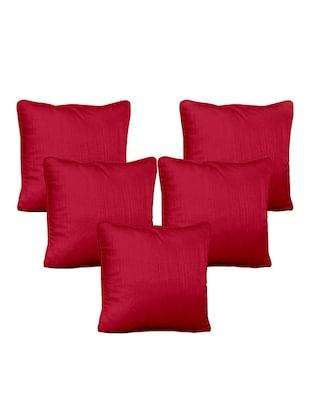 Cortina Polyester  Cushion Cover Set of 5