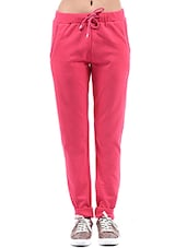 pink fleece track pants -  online shopping for Track pants