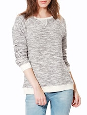 grey cotton pullover -  online shopping for Pullovers