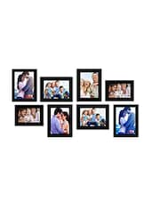 Classy Black Wooden Photo Frame - By