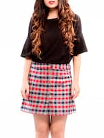 red a-line skirt -  online shopping for Skirts