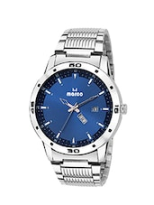 MARCO DAY N DATE MR-GR3014-BLUEE-CHAIN ELITE CLASS ANALOGUE WATCHAIN FOR MEN & BOYS -  online shopping for Analog Watches