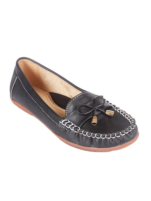 black slip on mocassins