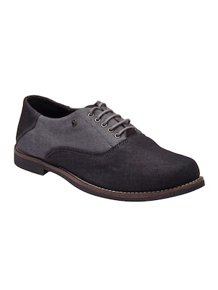 grey Canvas lace up shoe -  online shopping for Shoes
