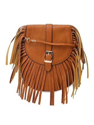 brown leather sling bag -  online shopping for sling bags