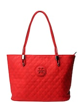 red leatherette  handbag -  online shopping for handbags