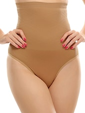 beige cotton shaper brief shapewear -  online shopping for shapewear