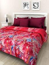 Multicolored Printed Woolen Blanket - By