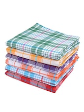 Pure cotton Bath Towel Handloom Gamcha Towels - Multicolour (Pack of 3) -  online shopping for towels