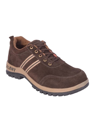 brown Leather lace up shoe -  online shopping for Shoes