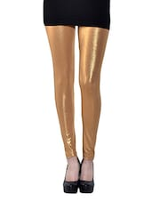 golden cotton spandex legging -  online shopping for Leggings