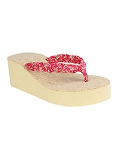 red rubber toe separator wedges -  online shopping for wedges