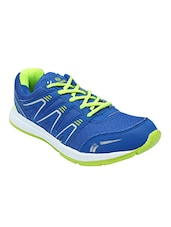 blue synthetic & mesh sports shoes -  online shopping for Sports Shoes