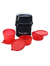 Signoraware 538 Officers 3 Containers Lunch Box  1070 ml