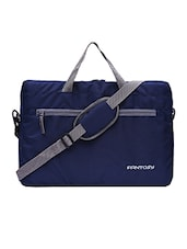 blue leatherette (pu laptopbag -  online shopping for laptopbags