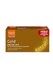 VLCC Gold Single Facial Kit With Offer (Set Of 4) - By
