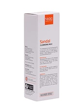 VLCC Skin Defense Sandal Cleansing Milk (100 Ml) - By