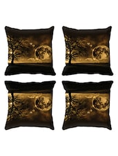 Walrus Set Of 4  Tafetta 3D Cushion Covers - By