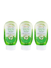 Globus Green Tea & Tea Tree Face Wash(Pack Of 3) - By