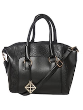 black leatherette regular purse -  online shopping for Purses