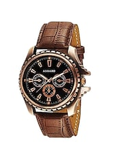Asgard Analog Black Dial Watch for Men-CPR-98 -  online shopping for Analog Watches