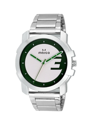 MARCO-MR-GR%20238%20GREEN-CH Analogue Watch For Men -  online shopping for Analog Watches