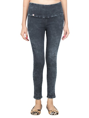 blue denim jeggings -  online shopping for Jeggings