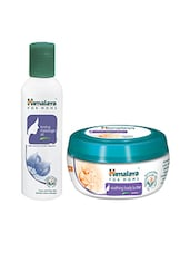 Himalaya For MoMs Tonning Massage Oil 200 Ml And Soothing Body Butter 200 Ml - By