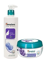 Himalaya For MoMs Tonning Massage Oil 500 Ml And Soothing Body Butter 200 Ml - By