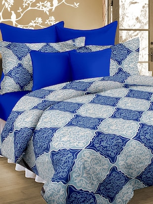 Cortina Double Bedsheet With Tow Pillow Cover -  online shopping for bed sheet sets