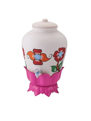 Multi Purpose Plant & Pot Shaped Matka Stand