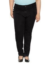 black mid-rise denim jean -  online shopping for Jeans