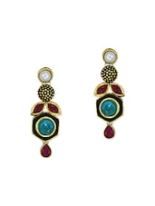 gold zinc other earring -  online shopping for earrings