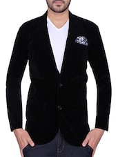 black velvet casual blazer -  online shopping for Casual Blazer