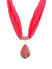 pink metal other necklace -  online shopping for Necklaces