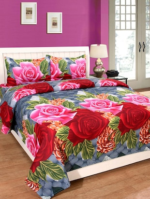Bed Sheet Sets Online Buy Designer Bed Sheets Online at Lowest Price