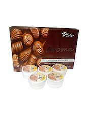 V-Color Aroma Chocolate Facial Kit 270 g (5 Steps) -  online shopping for Facial Kit