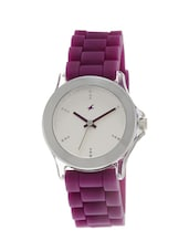 Fastrack White Dial Multi Color Analog Watch For  Women's - 9827PP06 -  online shopping for Wrist watches