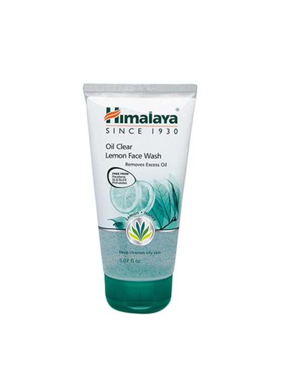 Himalaya Oil Clear Lemon Face Wash (Set Of 3) - By