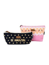 multi canvas printed pouch -  online shopping for Pouches