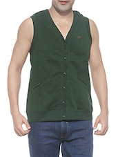 green cotton casual jacket -  online shopping for Casual Jacket