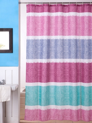 Bianca Waterproof Printed Shower curtain -  online shopping for shower curtains