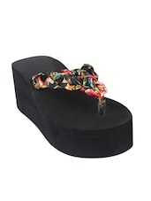 black fabric flip flop -  online shopping for Flip flops