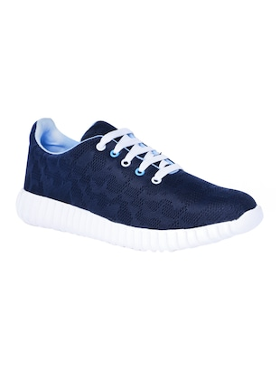 blue Fabric lace up sport shoe -  online shopping for Sport Shoes