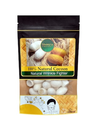 ANTI WRINKLE NATURAL COCOON SILK EXFOLIATOR FOR YOUNG SKIN -  online shopping for Exfoliators & Masks